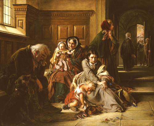 Waiting for the Verdict by Abraham Solomon