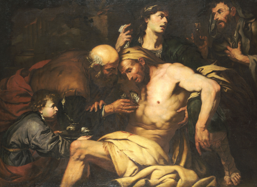 The Good Samaritan by Giovanni Battista Langetti