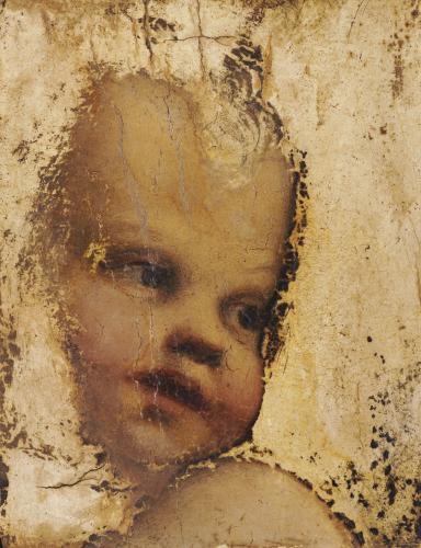 The Head Of A Child - A Fragment by Antonio Correggio