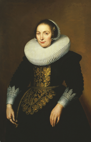 Portrait Of A Lady by Bartholomeus Sarburgh