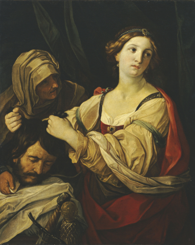 Judith With The Head Of Holofernes by Elisabetta Sirani