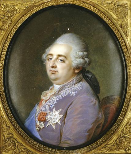 Bust Portrait Of Louis XVI (1754-1793) by Jean Guerin