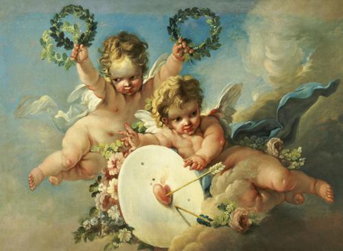 La Cible D'Amour (Love Target) by Francois Boucher
