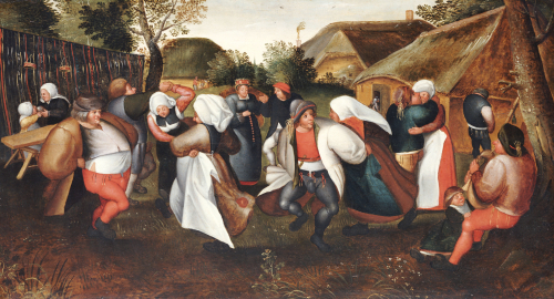 The Wedding Dance by Christie's Images