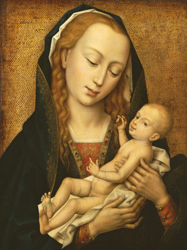 Virgin And Child by Christie's Images