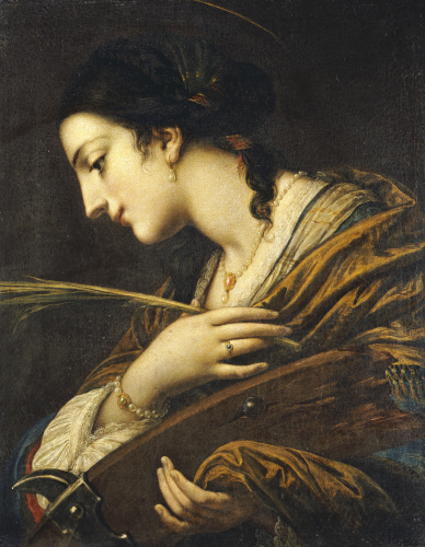 Saint Catherine Of Alexandria by Christie's Images