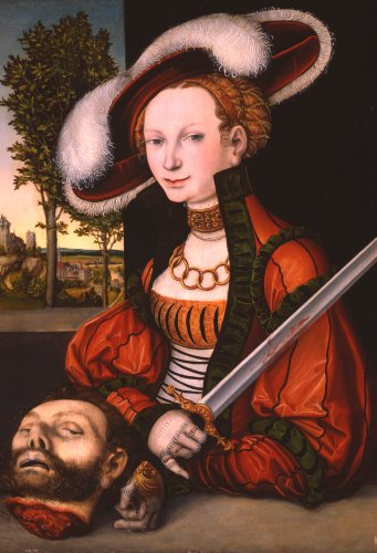 Judith With The Head Of Holofernes, 1530 by Lucas Cranach