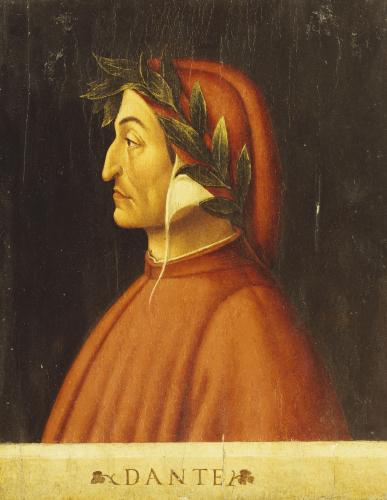 Portrait Of Dante by Christie's Images