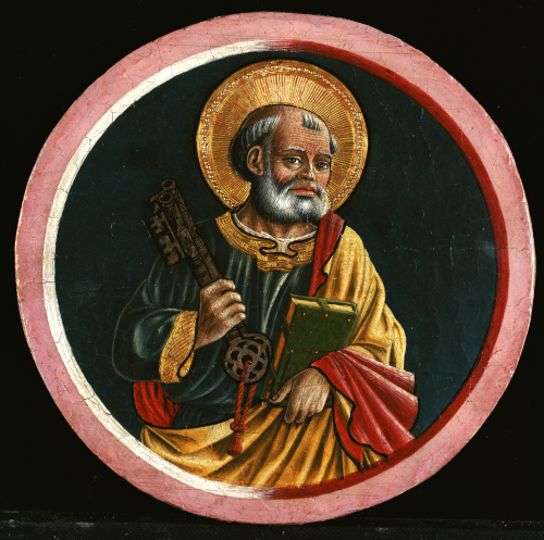 Saint Peter by Bartolomeo Caporali