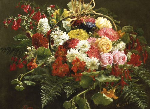 A Summer Bouquet, 1883 by Anthonie Eleonore Christensen