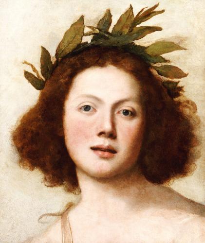 Head Of Apollo by Girolamo Forabosco
