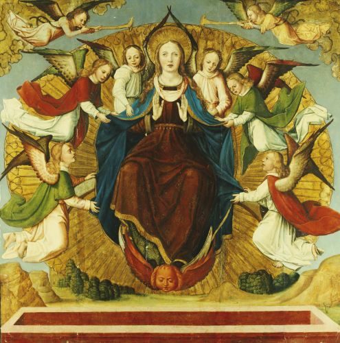 The Assumption Of The Virgin, School Of Avignon by Christie's Images