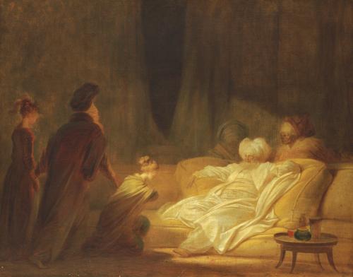 Le Pacha by Jean-Honoré Fragonard