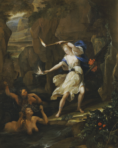 Circe Transforming Scylla by Eglon Hendrick Van Der Neer