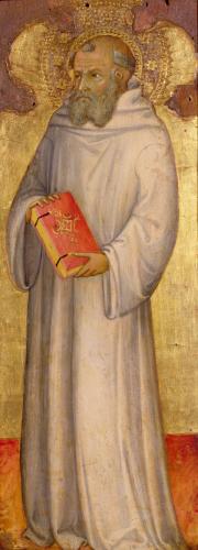 Saint Benedict by Andrea di Bartolo