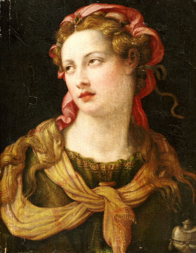 Saint Mary Magdalen by Michele Tosini Michele Di Ridolfo Del Ghirlandaio