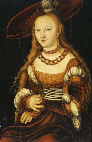 Portrait Of A Young Lady, C.1530 by Lucas Cranach