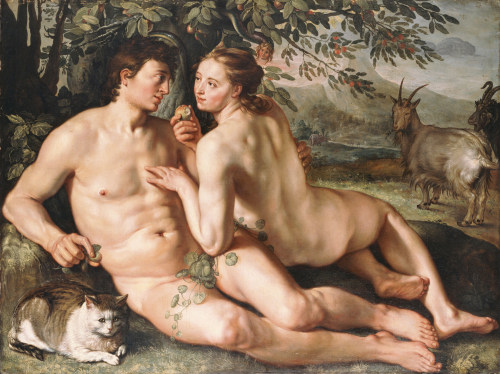 The Fall Of Man, 1616 by Hendrick Goltzius