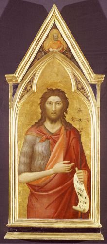 Saint John The Baptist by Jacopo del Casentino