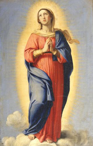The Immaculate Conception by Sassoferrato (Giovanni Battista Salvi)