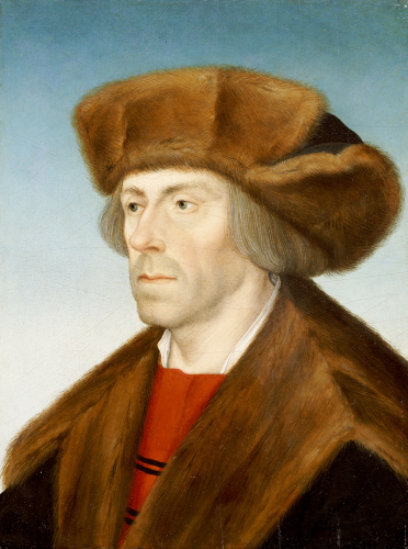 Portrait Of A Gentleman, Bust Length by Hans Maler