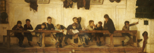 Left To Their Own Devices, 1881 by Gustav Igler
