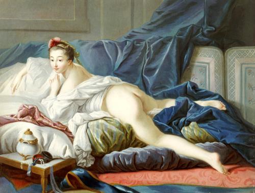 L'Odalisque Brune by Francois Boucher