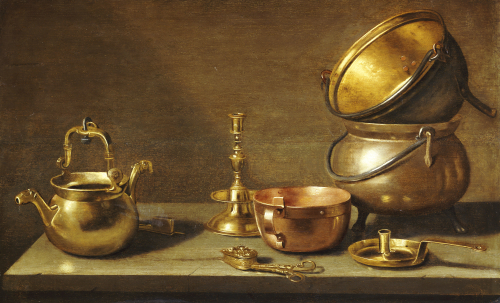 A Still Life Of Kitchenware by Christie's Images