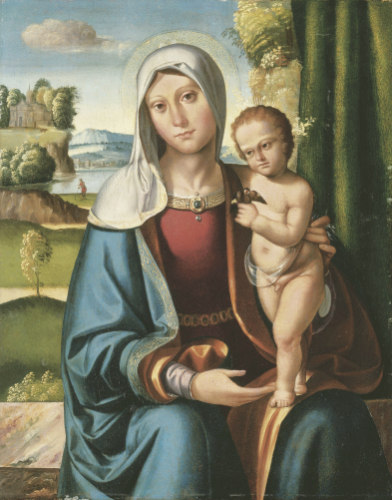 The Madonna And Child Benvenuto Tisi, Il Garofalo by Christie's Images
