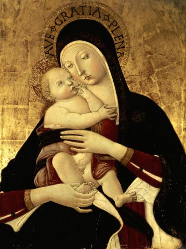 The Madonna And Child by Benvenuto di Giovanni
