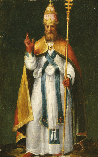 Saint Leo The Great by Bernardino Campi