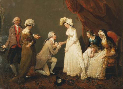The Proposal by Henry Singleton