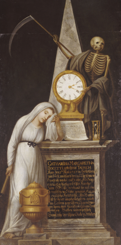 The Funerary Monument Of Singer Catharina Margarita Docetti, 1794 by Christie's Images