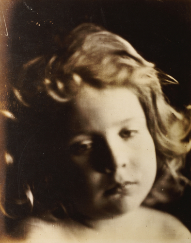 Portrait Of A Child, C. 1866 by Julia Margaret Cameron