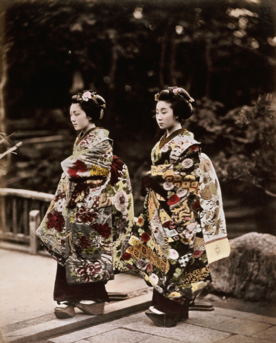 Japanese Costumes, 1880 by Christie's Images
