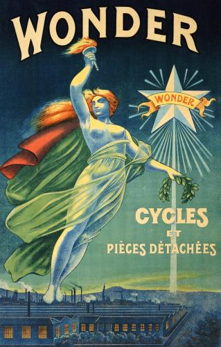 Wonder, Cycles Et Pieces Detachees, C.1910 by Christie's Images