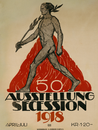 Ausstellung Secession, 1918 by Christie's Images