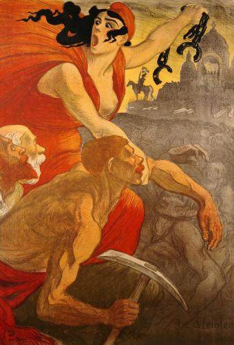 Le Petit Sou, 1900 by Theophile-Alexandre Steinlen