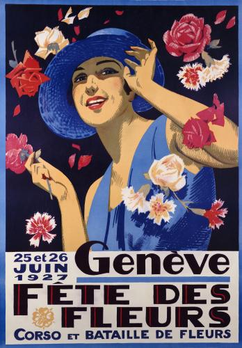 Geneve, Fete Des Fleurs, 1927 by Christie's Images