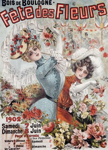 Fete Des Fleurs, 1902 by Louis Galice