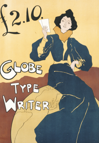 Globe Type Writer, 1899 by Edward Bella