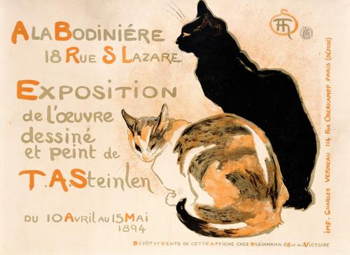 A La Bodiniere, 1894 by Theophile-Alexandre Steinlen