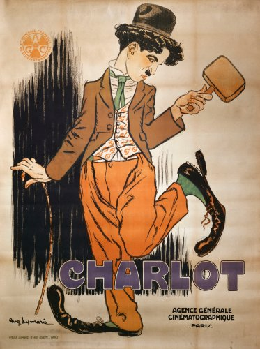 Charlot, Circa 1920 by Auguste Leymarie