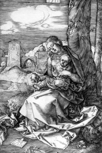 The Virgin And Child With The Pear, 1511 by Albrecht Dürer