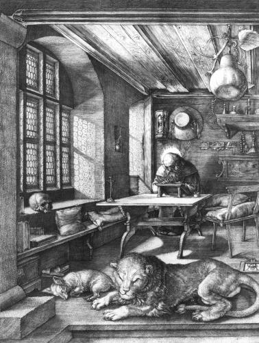 Saint Jerome In His Study, 1514 by Albrecht Dürer