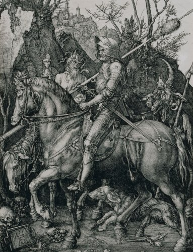 Knight, Death And The Devil, 1513 by Albrecht Dürer