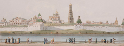 The Kremlin, Moscow by Phyllis Rowley