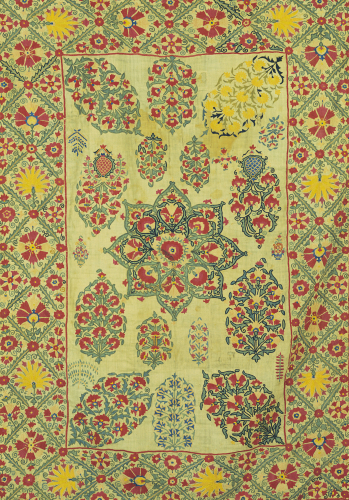 Nurata Suzani Silk Embroidery by Christie's Images
