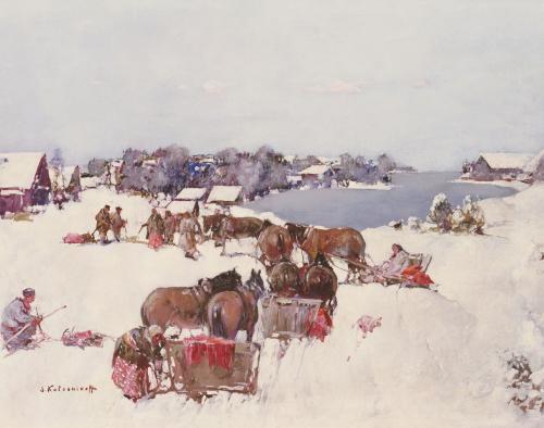 Sani By The Lake by Sergei M. Kolesnikoff