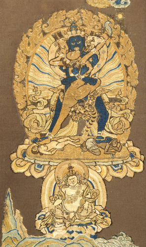 Samvara Embracing His Consort by Christie's Images
